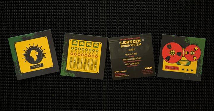 Lion's Den Sound System invites: RDH Hi-Fi & Joseph Lalibela