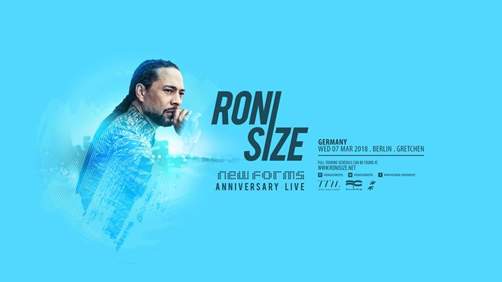 Roni Size: New Forms Live · Berlin · Gretchen