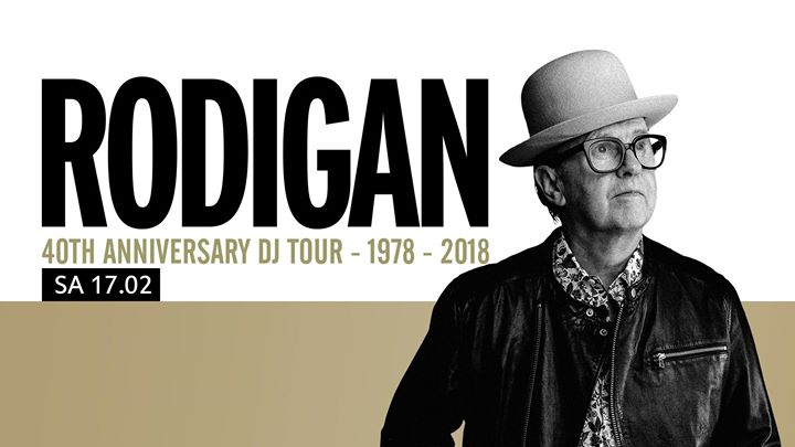 Rodigan 40th Anniversary DJ Tour 1978 – 2018