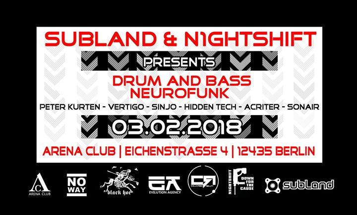 Subland meets N1ghtshift – The DnB & Neurofunk Edition