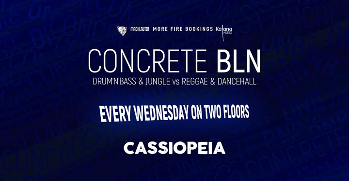 Concrete BLN w/ Curt Cocaine Phantom Warrior Bass Station