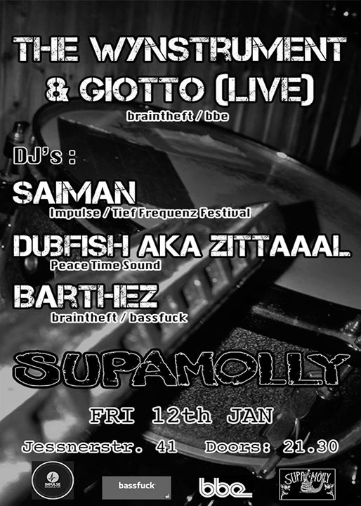 The Wynstrument & Giotto Live at Supamolly