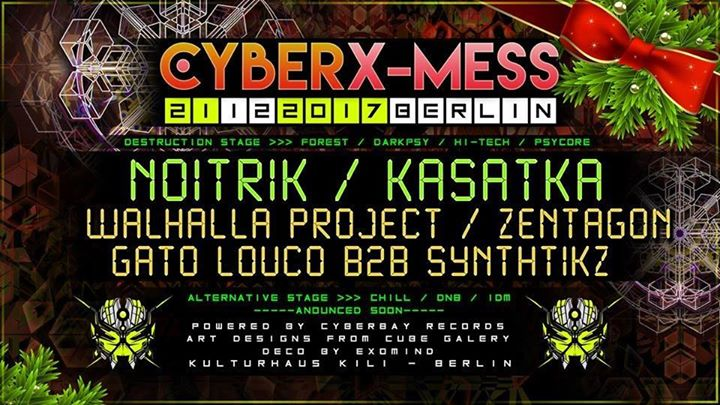 Cyber X-Mess 2017 Edition