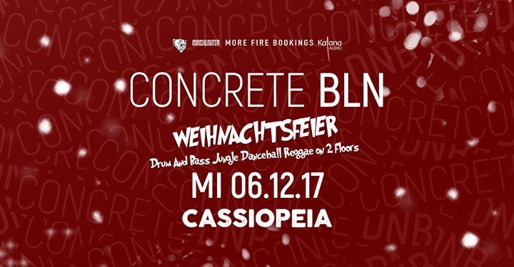 Concrete BLN – Offizielle Weihnachstfeier