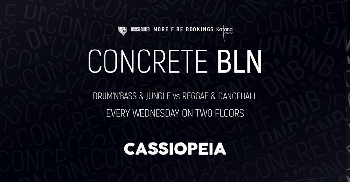 Concrete BLN w/ PRTCL Phantom Warrior Bass Station & Friends