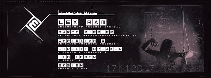 ♫ District-M presents ☆ Lex Ram■ Christian S. ■ Marco Rippler ☆