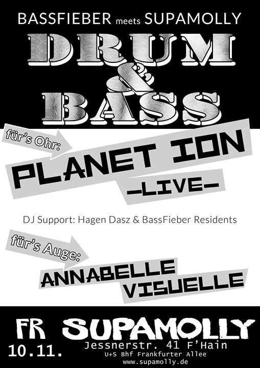 "BassFieber im Supamolly ft Planet Ion ""Live"""