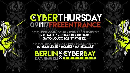 CyberThursday – free entrance