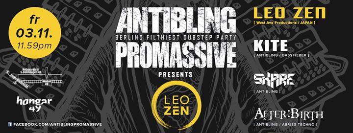Antibling : Promassive pres. LEO ZEN