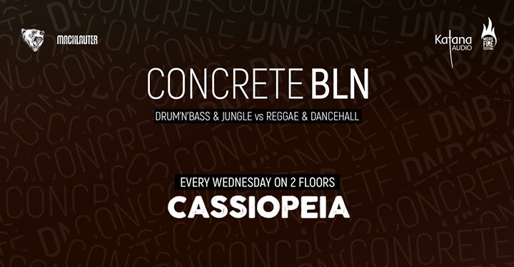 Concrete BLN w/ Jabba Julez Bnr Bass Station Phantom Warrior