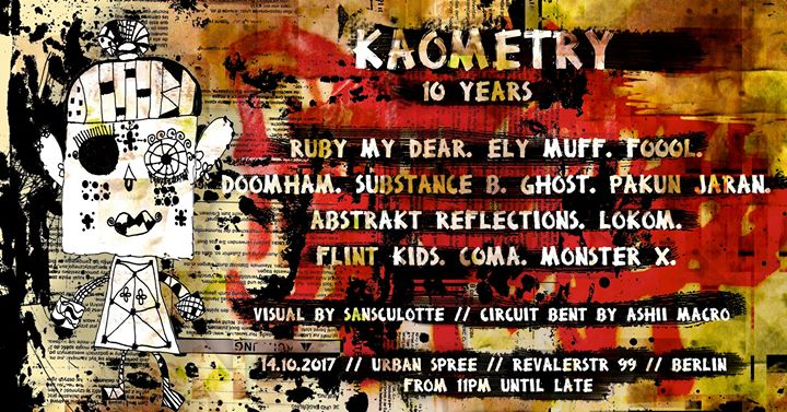 Kaometry 10 years // Berlin