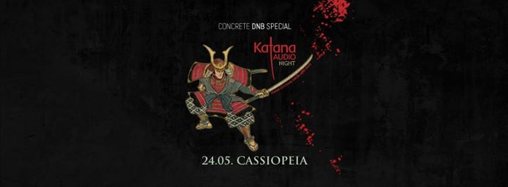 Concrete DNB Special – Katana Audio Night