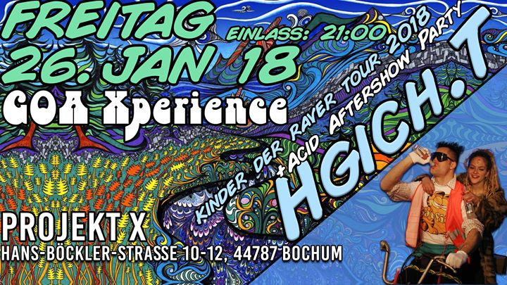 HGich.T Live + Acid Aftershow Party / Goa Xperience 2018