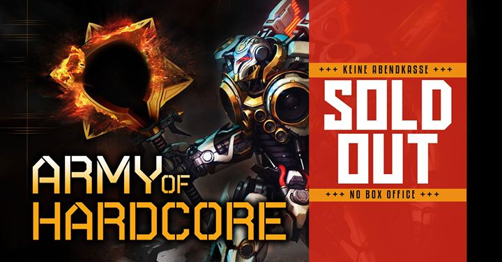 Army of Hardcore – The Indoor Festival 2017 (Sold Out)