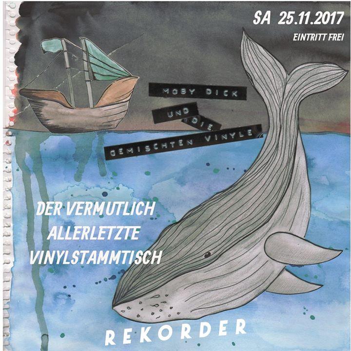 Moby Dick & die gemischten Vinyle