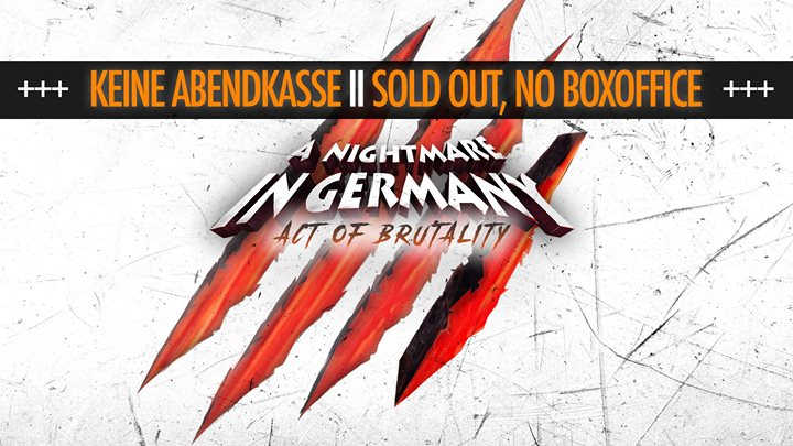 A Nightmare In Germany (Sold Out / Ausverkauft)