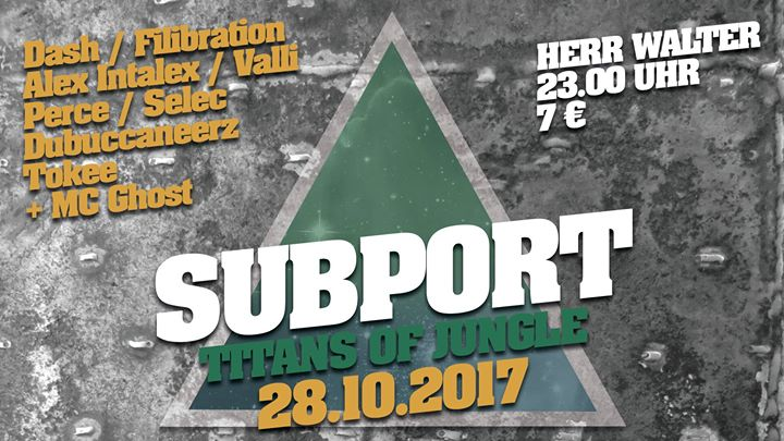 Subport – Titans of Jungle: Dash, Filibration, Intalex